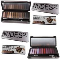 Paleta Estojo Lata Kit 12 Sombras Foscas Nudes Opacas =naked
