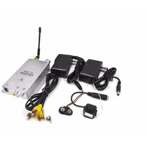 Kit Micro Cameras Wireless 2,4 Ghz C/placa Usb Easycap