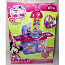Cozinha Infantil Grande Rosa Minnie Mouse Disney Original