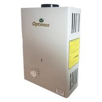 Boiler De Paso Para Agua Optimus 6 Lts Gas L.p.