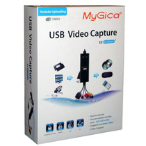 Placa De Captura Usb 2.0 Audio E Vídeo Mygica Retira Na Loja