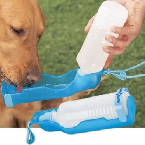 Water Rover Portable Pet Dog Drinking Bowl: Dispensador De Agua Para Mascotas/botella Para Perros O