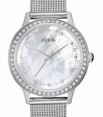 992029707187 Reloj Guess Dama W0647l1 Malla De Acero Enviogratis Original -   8.861