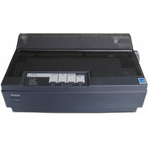 Frete Gratis Impressora Epson Matricial Lx-300+ Ii Usb Preta