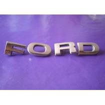 Emblema Ford Camioneta Cofre 1978 - 1986 Originales