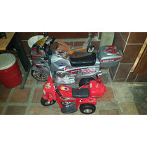 Moto De Bateria Para Niños 120cm Largo