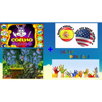 Coleção Coelho Sabido,13 Jogos + Idiomas + Jogos Para Pc