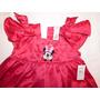 Vestido Infantil Pink Minnie - Original Disney Store Novo