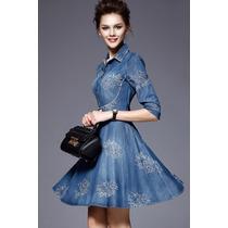 Mei Fashion/ Vestido Casual/ Verano/ Moda Coreana/ Jeans