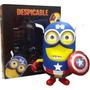 Mi Villano Favorito Despicable Me - Minion Captain America