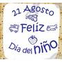 Vinilo Dia Del Niño Vidriera Personalizan Diseños Bufalo!