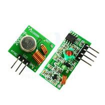 Modulo Transmisor Receptor Rf 433mhz Pic Atmel Arduino