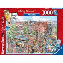 Rompecabezas Ravensburger De 1000 Piezas: Amsterdam