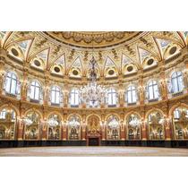 Painel Decoração Castelos, Princesas E Realeza 250 X 250 Cm