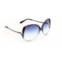 Oculos Feminino Vogue Vo2638s 1980/19 Azul Degrade Raro