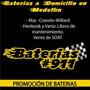 Baterías Para Carro Instalación Gratis En Medellín