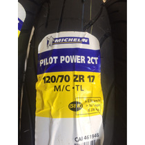 Pneu 120/70-17 Michelin Pilot Power 2ct (58w) Dianteiro