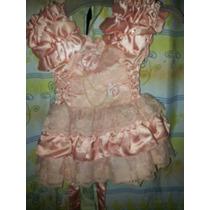 Vestido De Fiesta O Bautismo Nena 1 Año
