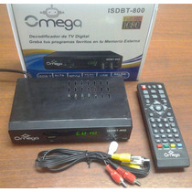 Decodificador Sintonizador Tv Digital Hd Grabador Isdbt