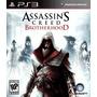 Assassins Creed Ps3 Brotherhood Español Lgames