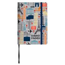 Caderno Diario De Viagem Tilibra Anotações Recordações