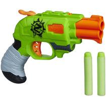 Pistola De Juguete Nerf Zombie Doblestrike (incluye Dardos)