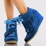Zapatillas Taco Cuña Wedge Sneakers Usa 8.5 38.5 39 Pedido