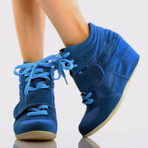 Zapatillas Taco Cuña Wedge Sneakers Usa 8.5 38.5 39 Pedido