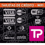 Calcos Tarjetas De Crédito -todo Pago-wifi- Ahora18- Vinilos