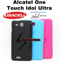 Alcatel One Touch Idol Ultra 6033 Funda Silicon