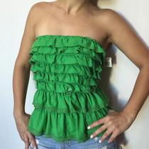 Blusa Camisa Camiseta Abercrombie & Fitch Tam M Babado Renda