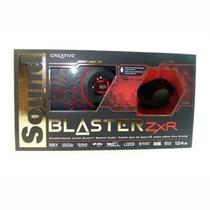 Placa De Som Creative Pcie X1 Sound Blaster Zxr Sb1510