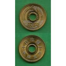 Grr-moneda De Japón 5 Yen 1991-1993 - Emperador Akihito