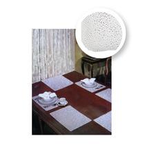 Juego De Manteles Individuales Mod. Crochet Blanco - M3046