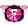 Remera + Tutu - Cumpleañeras- Personalizada - Monster High