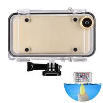 Carcasa Contra Agua Para Iphone 6/6s Gopro Accesorios Lente