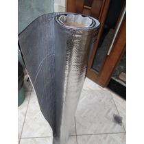 Manta Com Aluminio Adesiva Para Melhoria Acústica De Carros