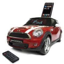 Dock Station P/ Ipod E Iphones C/ Design Do Mini Cooper