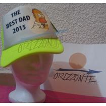 Gorra El Mejor Papá Homero Simpson Regalo Original
