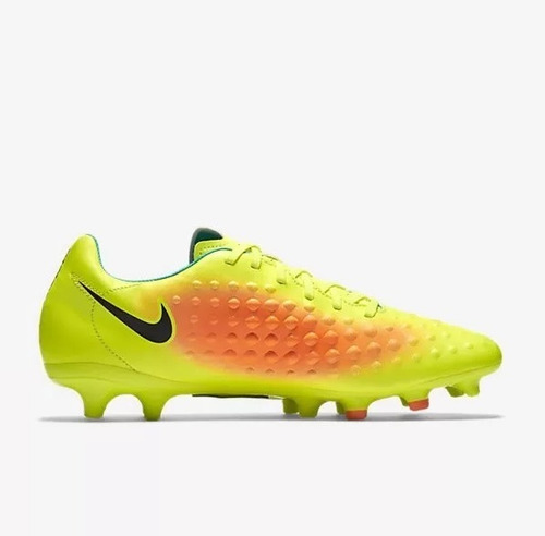 Chuteira Nike Campo Magista Onda Ii Fg Amarelo larja - R  299 b5d2c7be41f30