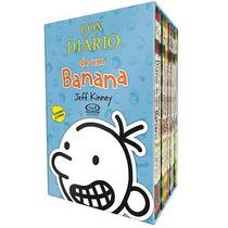 Box Diário De Um Banana 8 Volumes - Jeff Kinney Lacrado