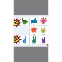 Mayoreo Mano Dedo Chica Hule Espuma Con Logo Serigrafia 1