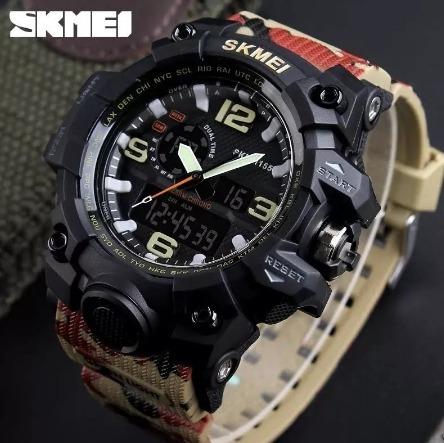 b3bfd54b3eb Relógio Skmei Masculino Original Funcional Luxo Prova Dagua - R  149 ...
