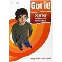 Got It! Starter Level Student Book And Workbook Com Cd