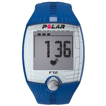 Reloj Entrenamiento Con Frecuencia Cardíaca Polar Ft2 Azul