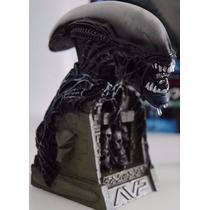 Alien Vs Predador Busto Alien Black Furyu Pronta Entrega