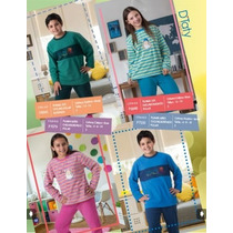 Pijama Niño Y Juv. Cycling Polar Bordado / Mallbits