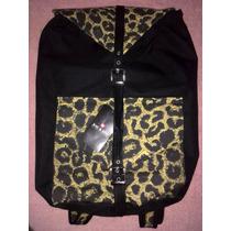 Bolso Morral Backpack Animal Print Nuevo Original Xicxoc M1