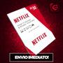 Cartão Pré-pago Netflix Assinatura R$ 30 Reais - Imediato