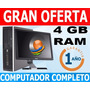 Computador -4gb -lcd 17-garantia 1año Colegio-internet-hogar